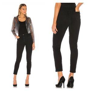 SUPERDOWN Carlotta Skinny Jean in Black Vintage